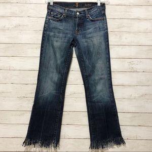 Fringe Seven For All Mankind bootcut jeans EUC V1